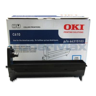 OKI C610 IMAGE DRUM CYAN